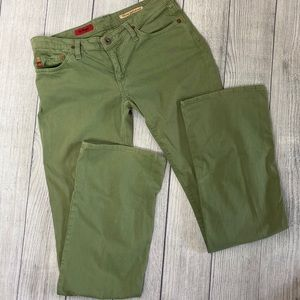 Adriano Goldschmied olive green The Angel Jean